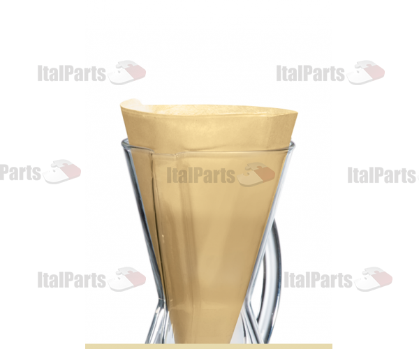 CHEMEX BONDED FILTERS UNFOLDED HALF MOON (NATURAL)